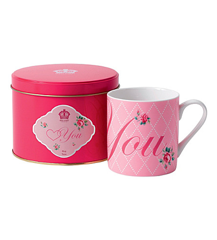ROYAL ALBERT Love you 190g mug