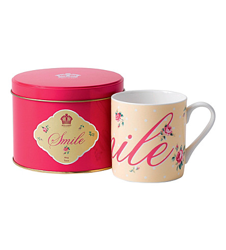 ROYAL ALBERT Smile 190g mug