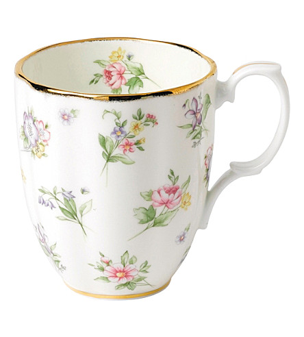ROYAL ALBERT 100 years spring meadow mug (1920's)