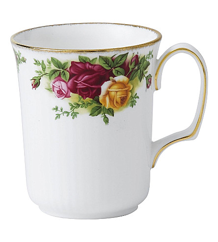 ROYAL ALBERT Old Country Roses beaker