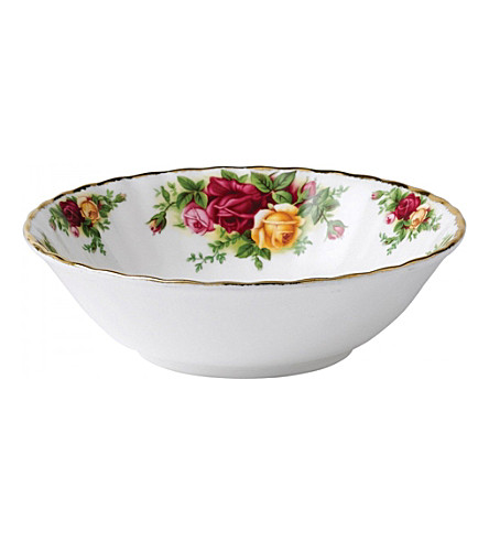 ROYAL ALBERT Old Country Roses china cereal bowl 16cm