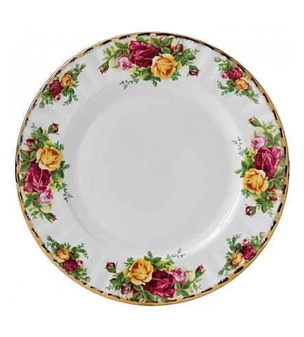 ROYAL ALBERT Old Country Roses china plate 18cm