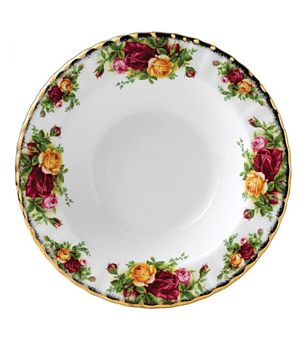ROYAL ALBERT Old Country Roses large soup plate