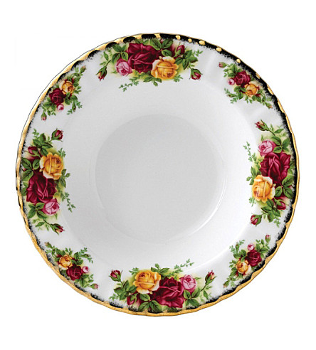 ROYAL ALBERT Old Country Roses small soup plate