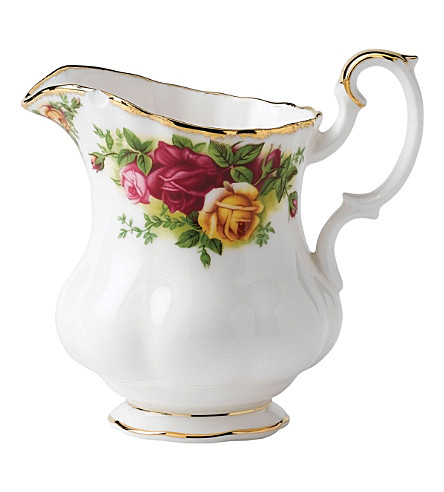 ROYAL ALBERT Old Country Roses large cream jug