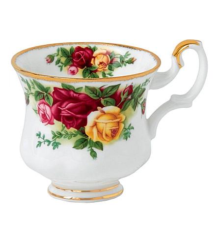 ROYAL ALBERT 老乡下玫瑰咖啡杯