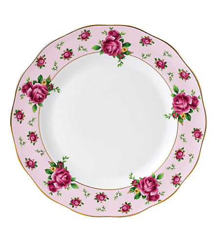 ROYAL ALBERT New Country Roses china plate 27cm