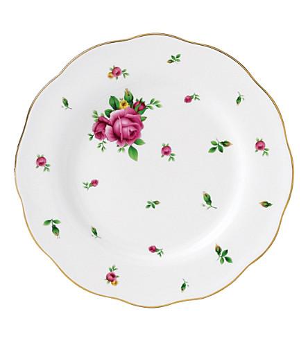 ROYAL ALBERT New Country Roses salad plate 20厘米