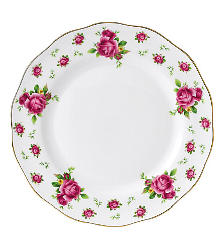 ROYAL ALBERT New Country Roses dinner plate 27cm