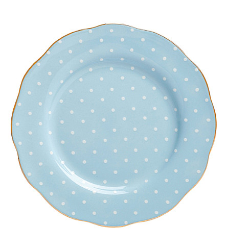 ROYAL ALBERT Polka plate 20cm