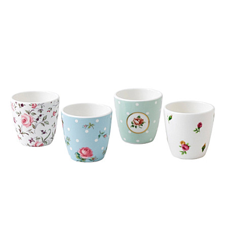 ROYAL ALBERT Egg cup gift set of 4