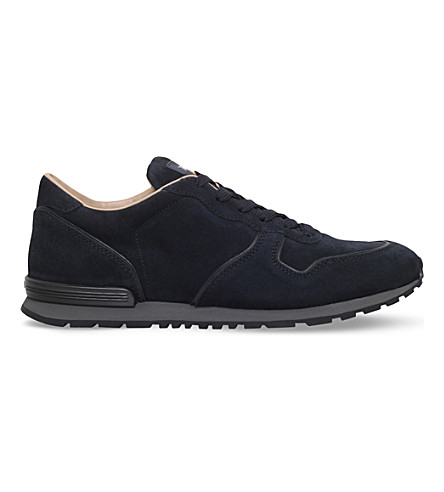TODS Active suede runner (Navy