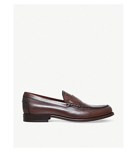 TODS Leather penny loafers (Brown