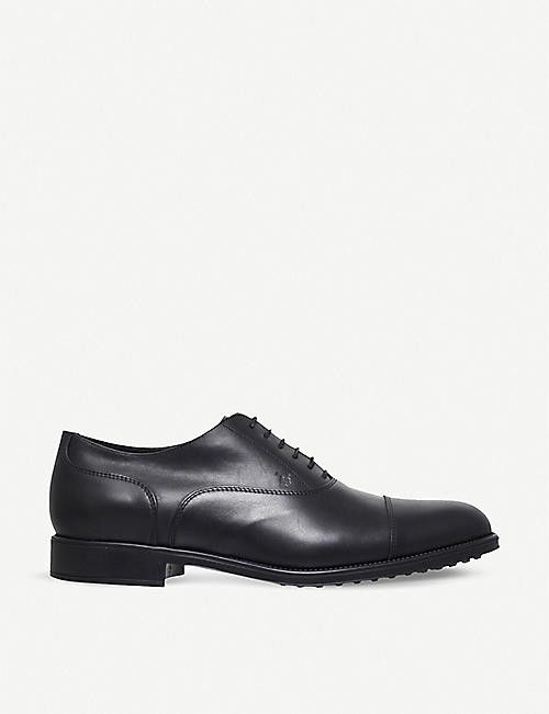 TODS Leather oxford shoes
