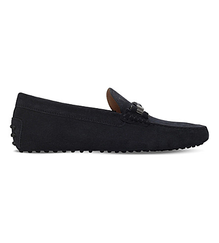 TODS Morsetto suede driving shoes