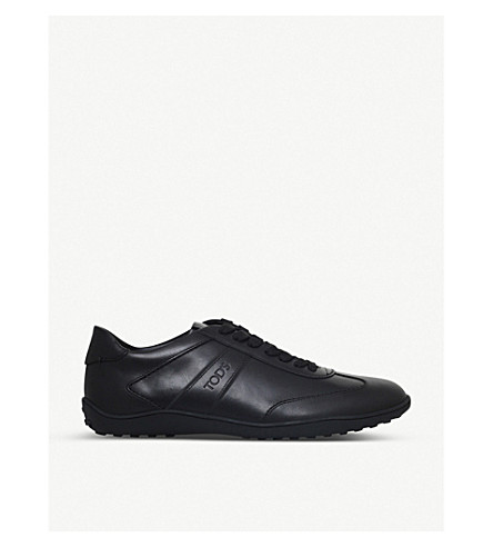 TODS Lo Pro leather trainers (Black