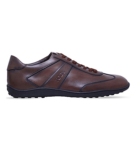 TODS New Owens lo pro leather trainers