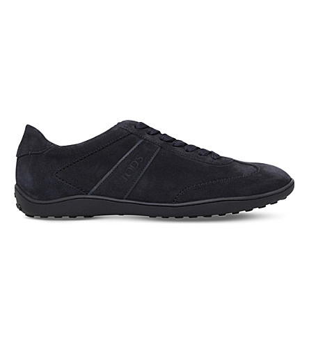 TODS Owens suede trainers (Navy