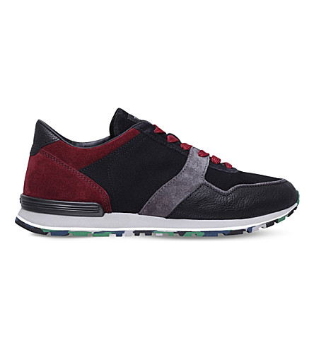 TODS Constructed suede running trainers