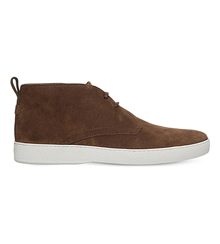 TODS Vulc suede chukka boots