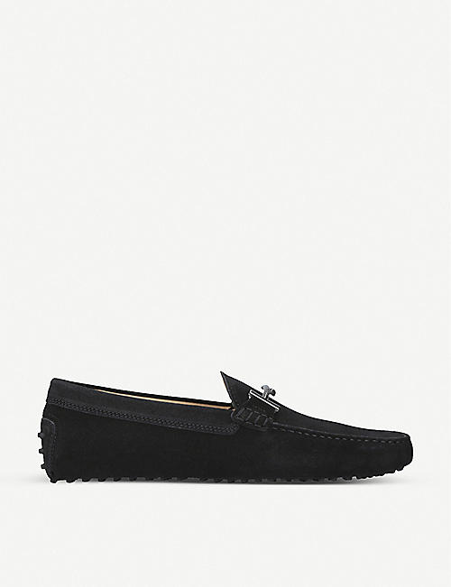 Tod's Loafers for Men On Sale, Ferrari, Black, Leather, 2017, 7