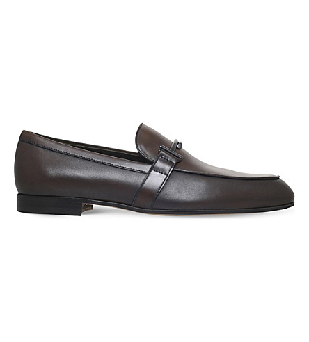 TODS Leather moccasins (Brown