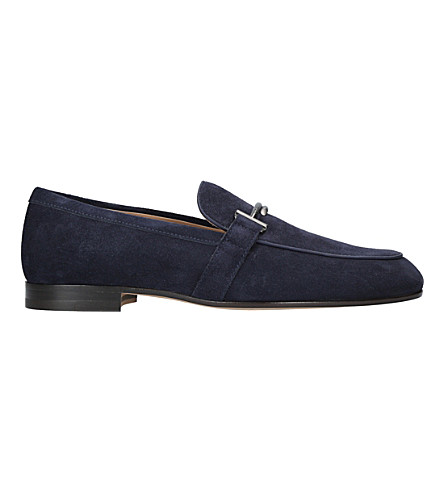 TODS Suede moccasins (Navy