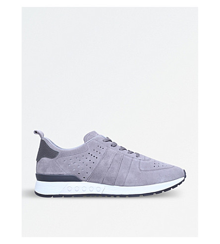 TODS Urban Sportivo suede trainers (Grey