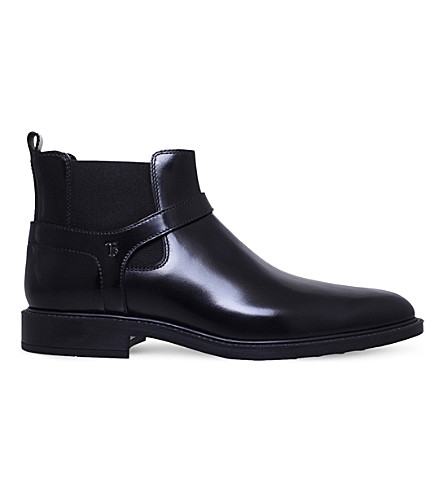 TODS Jodhpur leather Chelsea boots (Black