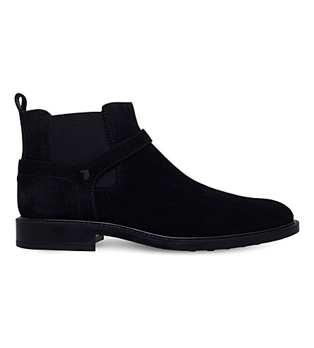 TODS Jodhpur suede Chelsea boots (Black