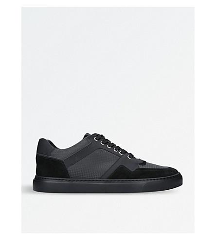 HARRYS LONDON Galaxy leather trainers (Black
