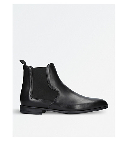 HARRYS LONDON Mark leather Chelsea boots (Black