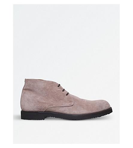 HARRYS LONDON Joshua suede chukka boots (Taupe