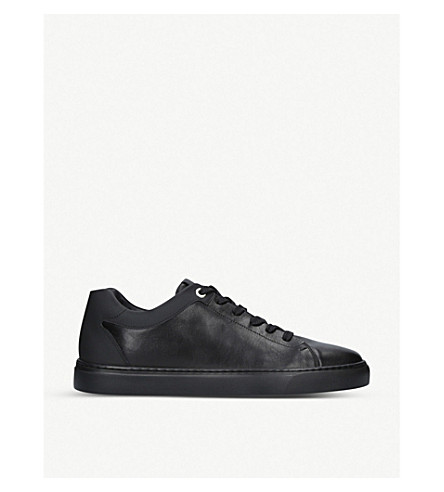 HARRYS LONDON Tom leather trainers (Black