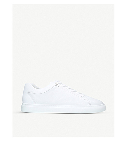 HARRYS LONDON Tom leather trainers (White