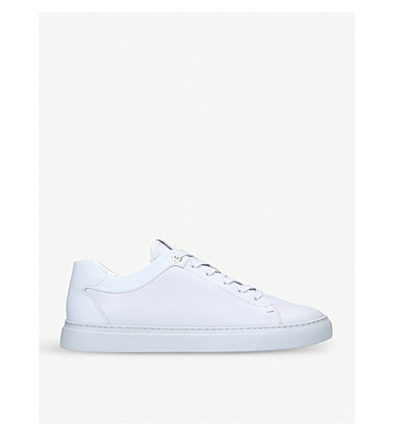 HARRYS LONDON汤姆皮革运动鞋 (灰色