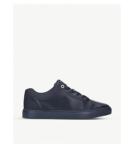 HARRYS LONDON Tom leather trainers (Navy