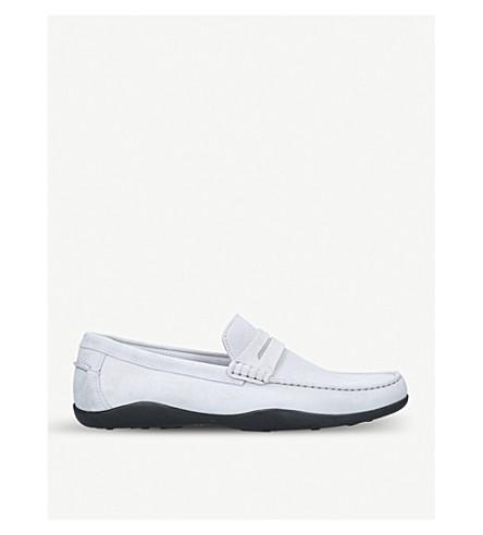 HARRYS LONDON Basel suede loafers (Grey