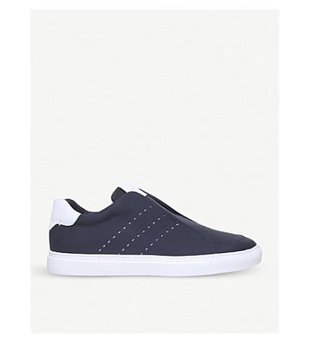 HARRYS LONDON履带滑革套穿款运动鞋 (蓝 + 其他