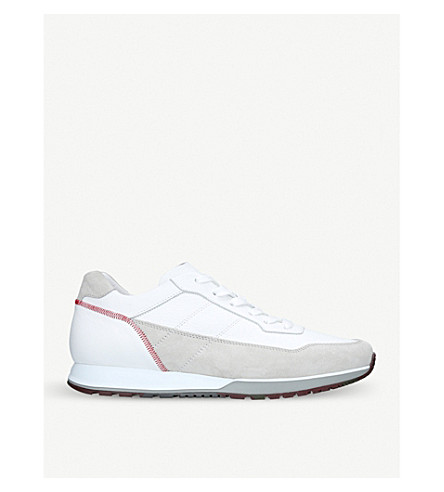 HOGAN 321 tonal leather trainers (White