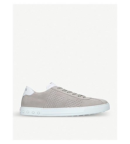TODS Casseta suede trainers (Grey/light