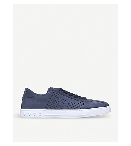 TODS Casseta suede trainers (Navy