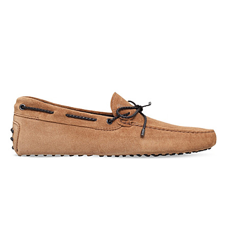 TODS Scooby doo suede driving shoes