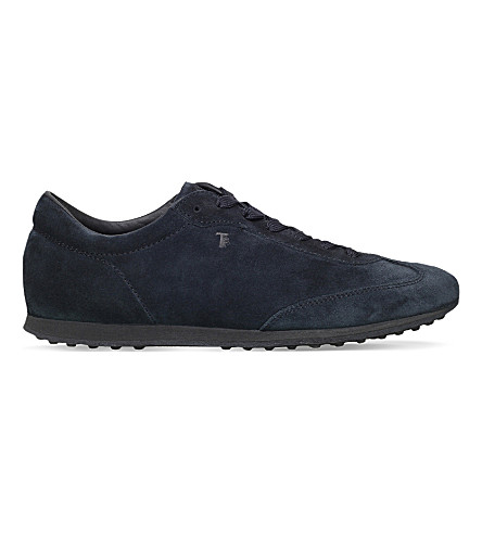 TODS Lo Pro suede trainers (Navy