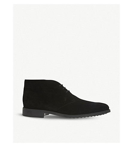 TODS Suede chukka boots (Black