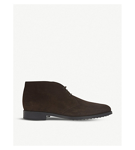 TODS Suede chukka boots (Brown