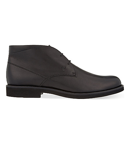 TODS Chukka shoes (Black