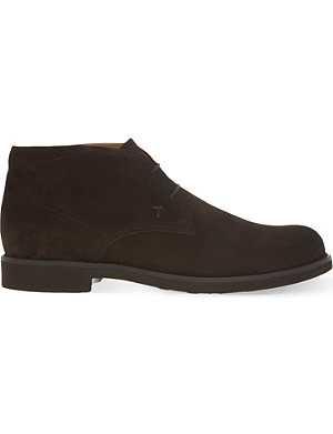 TODS Lite suede chukka boots