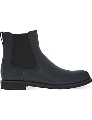 TODS Plain leather chelsea boots