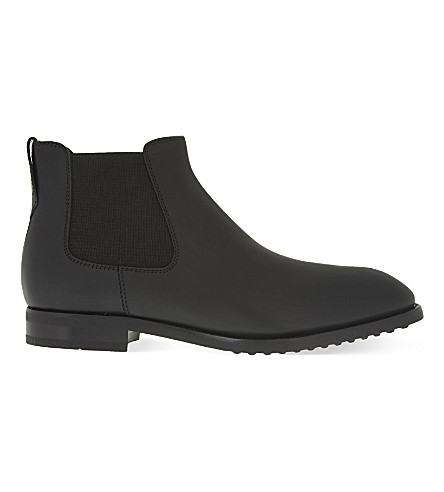 TODS Leather Chelsea boots (Black